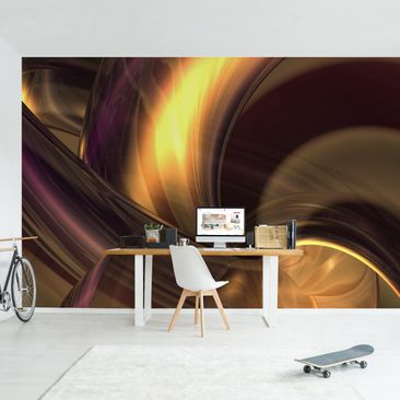 Product picture Photo Wall Mural - Enchanted Fire -...
