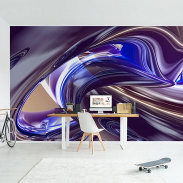 Product picture Photo Wall Mural - Forcing Darkness -...