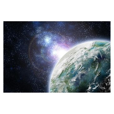 Product picture Photo Wall Mural - Galaxy Light -...