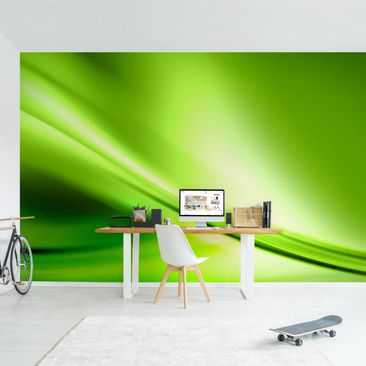 Product picture Photo Wall Mural - Green Valley -...
