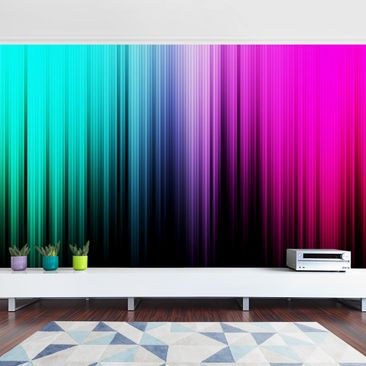 Product picture Photo Wall Mural - Rainbow Display -...