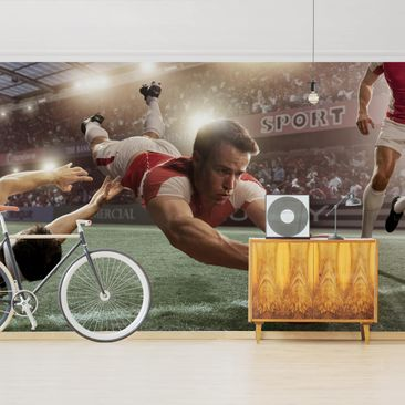 Product picture Photo Wall Mural - Rugby Action -...