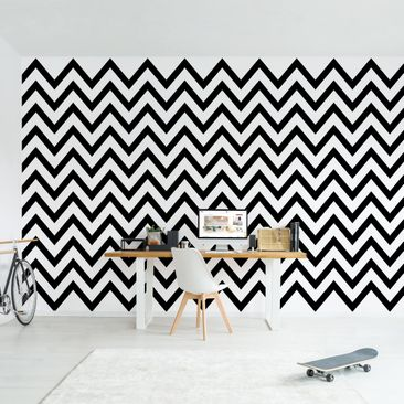 Product picture Photo Wall Mural - Black And White...