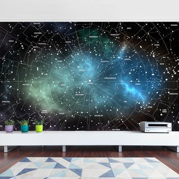 Product picture Photo Wall Mural - Constellation Map...