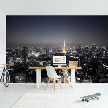 Product picture Photo Wall Mural - Tokyo - Self-adhesive...