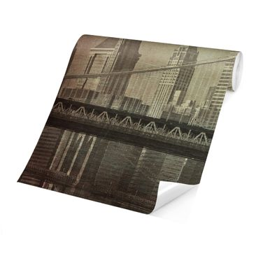 Product picture Photo Wall Mural - Vintage New York City...