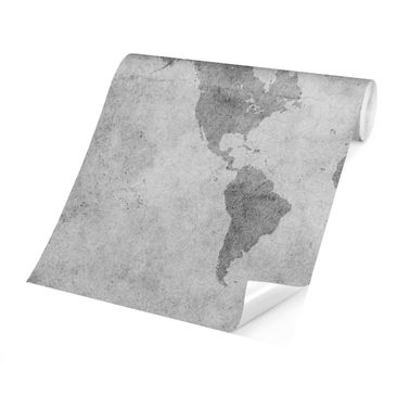 Product picture Photo Wall Mural - Vintage World Map II...