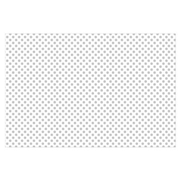 Product picture Photo Wall Mural - Gray Dots On White -...