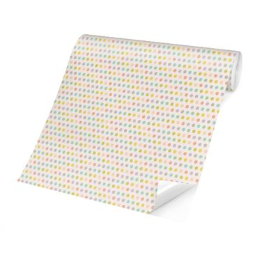 Product picture Photo Wall Mural - No.YK61 Dots Pastel -...