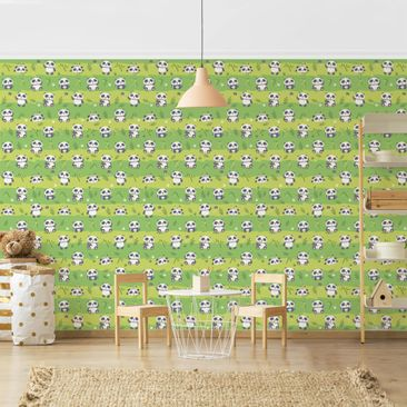 Product picture Photo Wall Mural - Sweet Panda Bear...