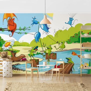 Product picture Photo Wall Mural - No.NL1 Animal Concert...