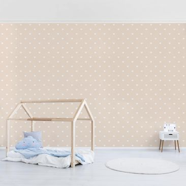 Product picture Photo Wall Mural - No.Yk58 White Hearts...