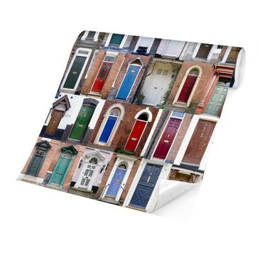 Product picture Photo Wall Mural - 100 Doors -...
