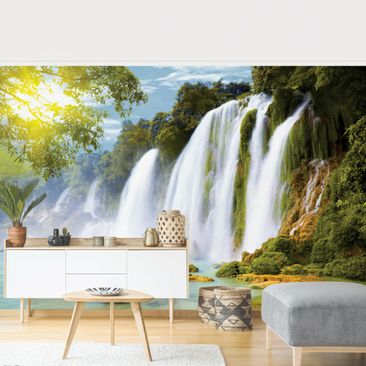 Product picture Photo Wall Mural - Amazon Waters -...