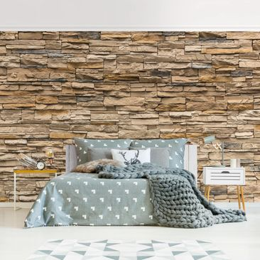 Product picture Photo Wall Mural - Andalusia Stonewall -...