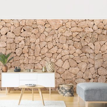Product picture Photo Wall Mural - Apulia Stonewall -...