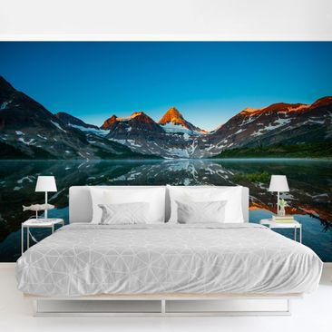 Product picture Photo Wall Mural - Mountain Landscape At...