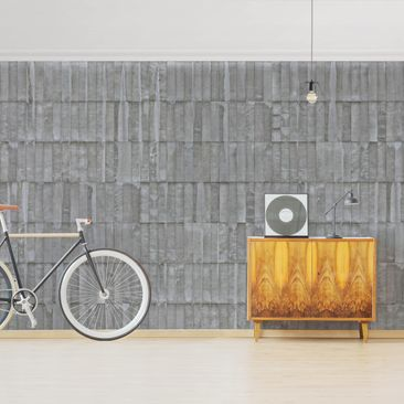 Product picture Photo Wall Mural - Concrete Tile...
