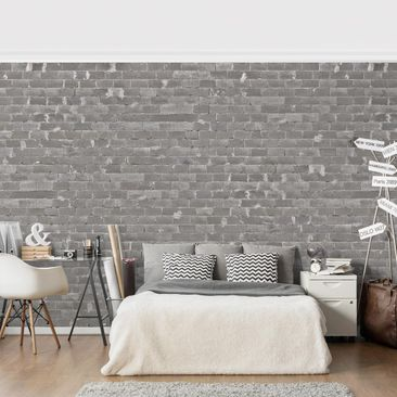 Product picture Photo Wall Mural - Concrete Tile -...