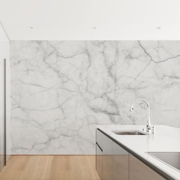 Product picture Photo Wall Mural - Bianco Carrara -...