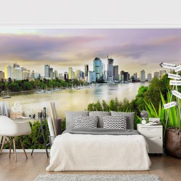 Product picture Photo Wall Mural - Brisbane -...