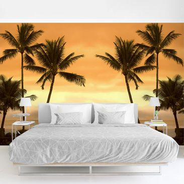 Product picture Photo Wall Mural - Caribbean Sunset II -...
