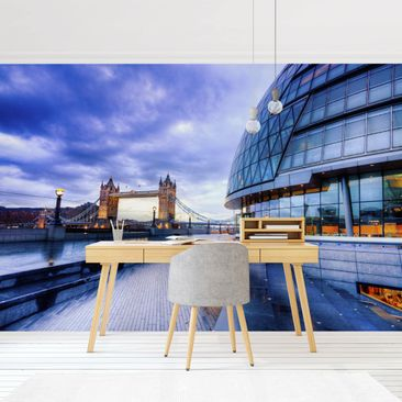 Product picture Photo Wall Mural - City Hall London -...