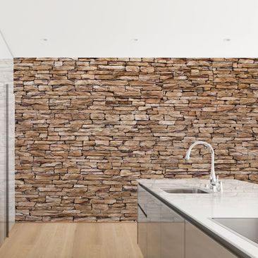 Product picture Photo Wall Mural - Crete Stonewall -...