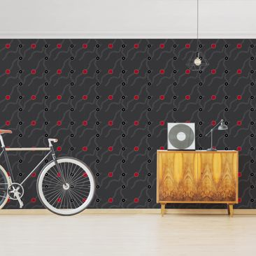 Product picture Photo Wall Mural - Dark Aboriginal...