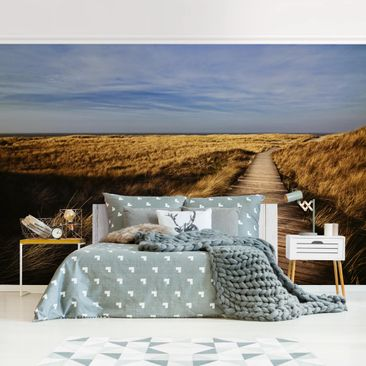 Product picture Photo Wall Mural - Dunes Path On Sylt -...