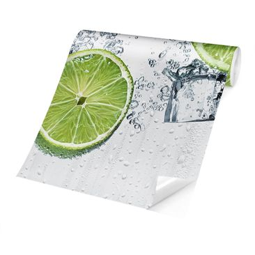 Product picture Photo Wall Mural - Refreshing Lime -...