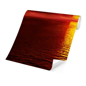 Product picture Photo Wall Mural - Fantastic Sunset -...