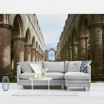 Product picture Photo Wall Mural - Fountains Abbey -...