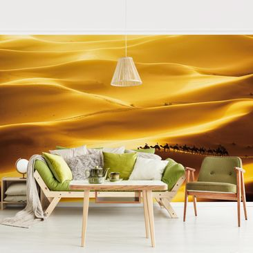 Product picture Photo Wall Mural - Golden Dunes -...