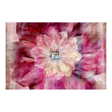 Product picture Photo Wall Mural - Grunge Flower -...