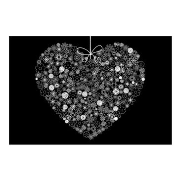Product picture Photo Wall Mural - Heart Giveaway -...