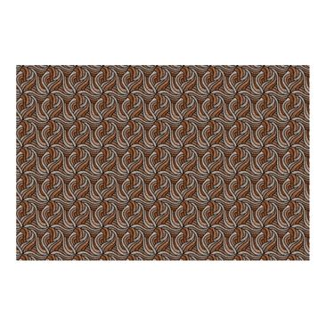 Product picture Photo Wall Mural - Woodcut In Brown -...