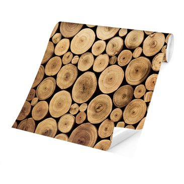 Product picture Photo Wall Mural - Homey Firewood -...