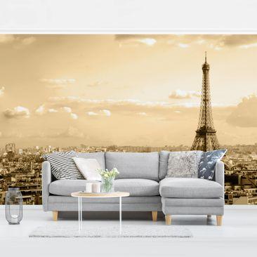 Produktfoto Tapete selbstklebend - I Love Paris - Fototapete Querformat