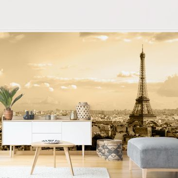 Product picture Photo Wall Mural - I Love Paris -...