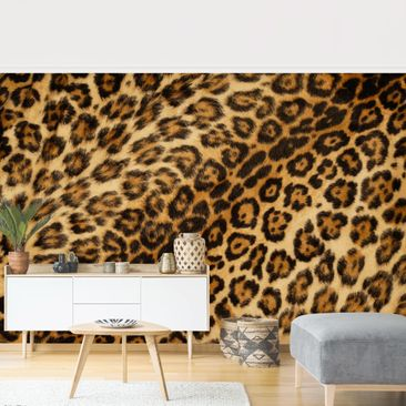Product picture Photo Wall Mural - Jaguar Skin -...