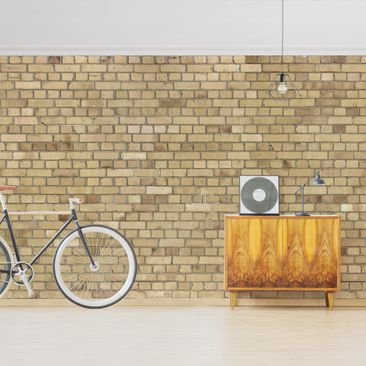 Product picture Photo Wall Mural - Clinker Wallpaper...