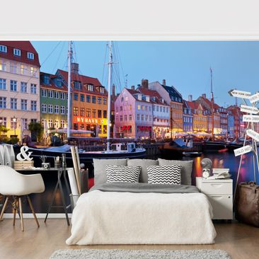 Product picture Photo Wall Mural - Copenhagen Harbor In...
