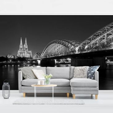 Product picture Photo Wall Mural - Cologne At Night II -...