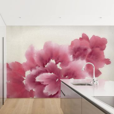 Product picture Photo Wall Mural - Artistic Flora I -...