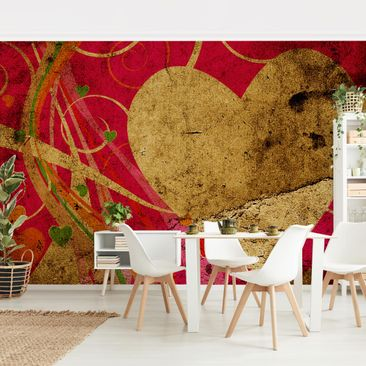 Product picture Photo Wall Mural - Lava Love -...