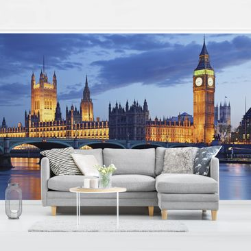 Product picture Photo Wall Mural - London At Night -...