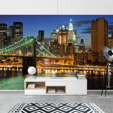 Product picture Photo Wall Mural - Manhattan Panorama -...