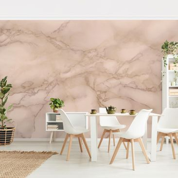 Product picture Photo Wall Mural - Marble Look Gray...
