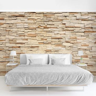 Product picture Photo Wall Mural - Mexico Stonewall -...